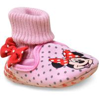 Pantufa Fem Infantil Ricsen 13394 Bebe Minie Rosa