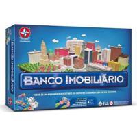 Jogo Banco Imobiliário - 2018 - Estrela - Unissex-Incolor