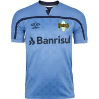 Camisa Do Grêmio Iii 2020 Umbro - Masculina - Azul/Azul Esc
