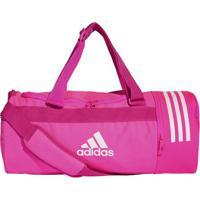 176e7aab4 Bolsa Cvrt 3S Duf S - Pink & Branca - Adidasadidas