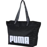 Bolsa Puma Prime Street Large Shopper - Feminina - Preto fe5d5af6978