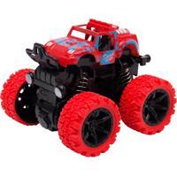 Mini Carrinho Caminhonete Com Fricção Manobras De 360° Graus – Unik Toys Vermelho - Kanui