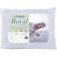 Travesseiro Para Bebê Royal Baby 30Cm X 40Cm Branco