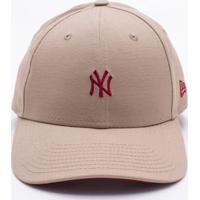 Boné New Era 940 New York Yankees Mlb Bege Único