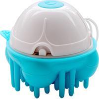Massageador Portátil Relaxmedic Mini Bath - Unissex-Azul+Branco