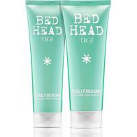 Kit Shampoo Bed Head Totally Beachin 250Ml + Condicionador Pós-Sol 200Ml