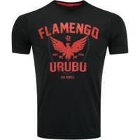 Camiseta Do Flamengo Urubu 19 - Masculina - Preto