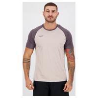 Camisa Topper Fut Classic Color Cinza E Chumbo