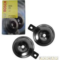 Buzina - Bosch - Paquerinha - 12V - Par - 0986Ah0700