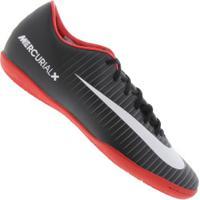 fd1f96efc5 Chuteira Futsal Nike Mercurial Victory Vi Ic - Adulto - Preto Branco