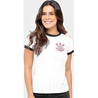 Camisa Corinthians Libertados Feminina - Feminino-Branco
