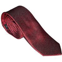 Gravata Bordô Composta Slim Levok