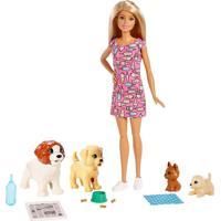 Barbie Treinadora De Cachorrinhos - Mattel - Tricae