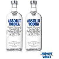 Vodka Absolut Original 1L - 02 Unidades