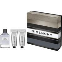 Estojo Givenchy Gentlemen Only Eau De Toillete + Pós Barba + Loção Para Banho