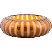 Vaso De Vidro Decorativo Oval Ascona