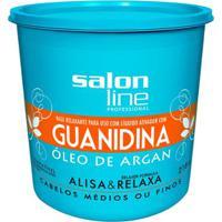 Guanidina Salon Line - Óleo De Argan Regular - 218Gr - Unissex-Incolor