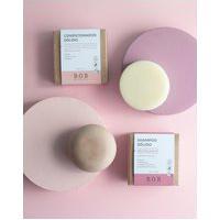 Amaro Feminino B.O.B. Kit Shampoo Em Barra Revitalizante & Condicionador Em Barra Hidratação Profunda, Neutra
