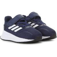 Tênis Infantil Adidas Runfalcon - Unissex-Azul+Preto