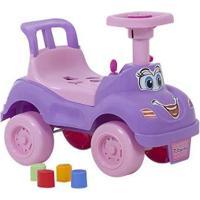 Andador De Empurrar Brinquedos Cardoso - Unissex-Lilás