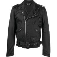 Comme Des Garçons Homme Plus Checkerboard Biker Jacket - Preto