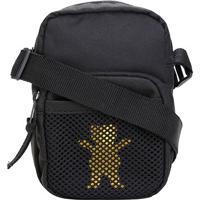 Bolsa Grizzly Shoulder Bag Og Bear Hide - Masculino-Preto