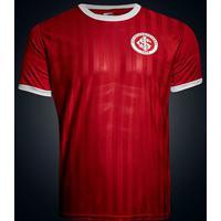Camisa Retrô Internacional Edição Limitada Masculina - Masculino-Vermelho