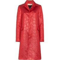 Marni Casaco Com Textura Bordado - Vermelho