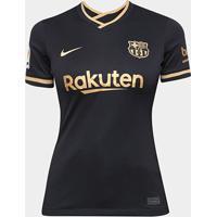 Camisa Barcelona Away 20/21 S/N° Torcedor Nike Feminina - Feminino