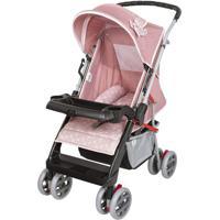 Carrinho Bebê Berço Reversível Thor Tutti Baby Rosa Rosa