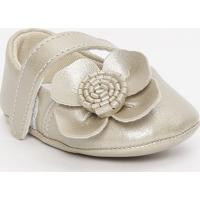 Sapato Boneca Com Tira - Dourado - Ticco Babytico Baby