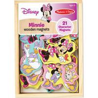 Figuras De Madeira Com Imã - Personagens - Disney - Minnie Mouse - New Toys