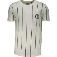 Camiseta Nba Brooklyn Nets Estampada Branca