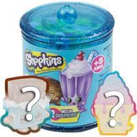 Mini Figuras - Shopkins - Feirinha Gastronômica - Sortidas - Dtc - Feminino-Incolor