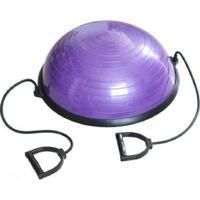 Meia Bola Para Pilates E Yoga C/ Corda Puxador - Wct Fitness - Unissex