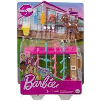 Barbie - Mini Playset Com Pets - Pebolim Mattel