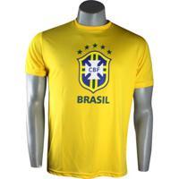 Camiseta Masculina Spr Cbf Brasil