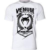 Camiseta Venum Legends Muay Thai Branco