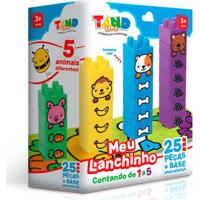 Blocos De Montar - Tand Kids - Meu Lanchinho - Toyster
