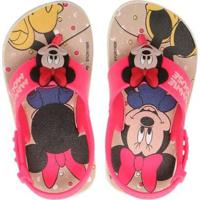 Sandália Bebê Disney Friends Minnie Feminina - Feminino