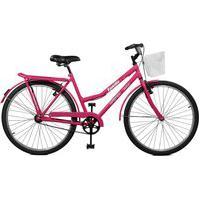 Bicicleta Master Bike Aro 26 Feminina Kamilla Manual Rosa