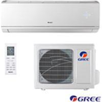 Ar Condicionado Split Inverter Hw Eco Garden Gree Com 24.000 Btus, Frio, Turbo, Branco - Gwc24Qe-D3Dnb8M