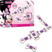 Jogo Domino Minnie Disney Xalingo - Rosa - Dafiti