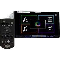 Dvd Player Tela 7´´´´ 2-Din Dvd/Usb/Am/Fm/Bt Tv Digital E Auxiliar Com Controle Remoto Avh-X598Tv