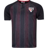 Camiseta São Paulo Versa - Masculina - Preto