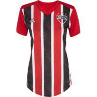 Camisa Do São Paulo Ii Adidas 20 - Feminina - Vermelho/Branco