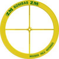 Roda De Água Para Bomba 1.50 X 0.25M Amarela Zm Bombas