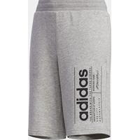 Shorts Moletom Infantil Adidas Yb Bb Masculino - Masculino