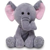 Pelúcia - 25 Cm - Meu Elefantinho - Buba