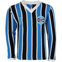 Camisa Grêmio Oldoni Retrô Libertadores Manga Longa Masculina - Masculino